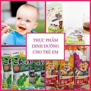 Thực phẩm dinh dưỡng Trẻ Em